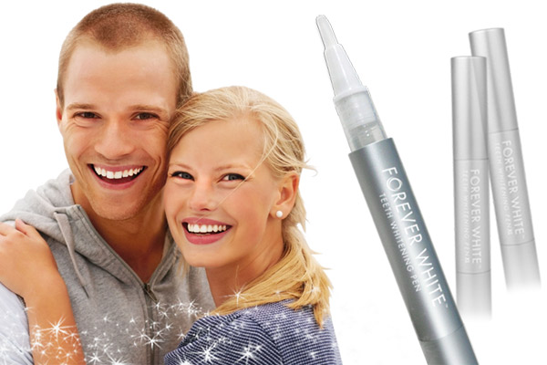 The Forever White™ Teeth Whitening Pen is a safe, effective and quick way to achieve bright, white teeth.